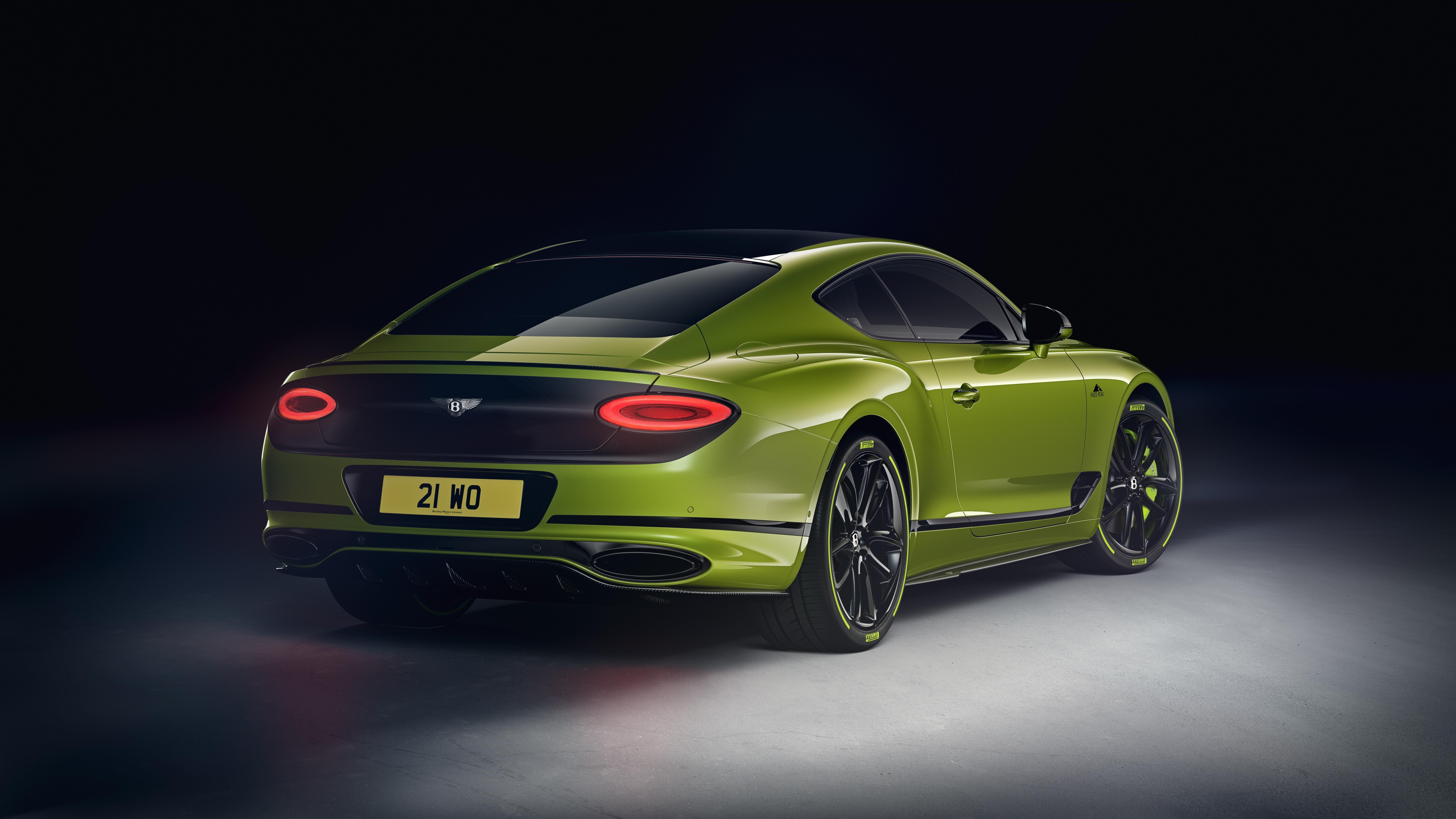 Bentley Limited Edition Continental Gt Festeja Al Auto De Produccion Mas Rapido De Pikes Peak