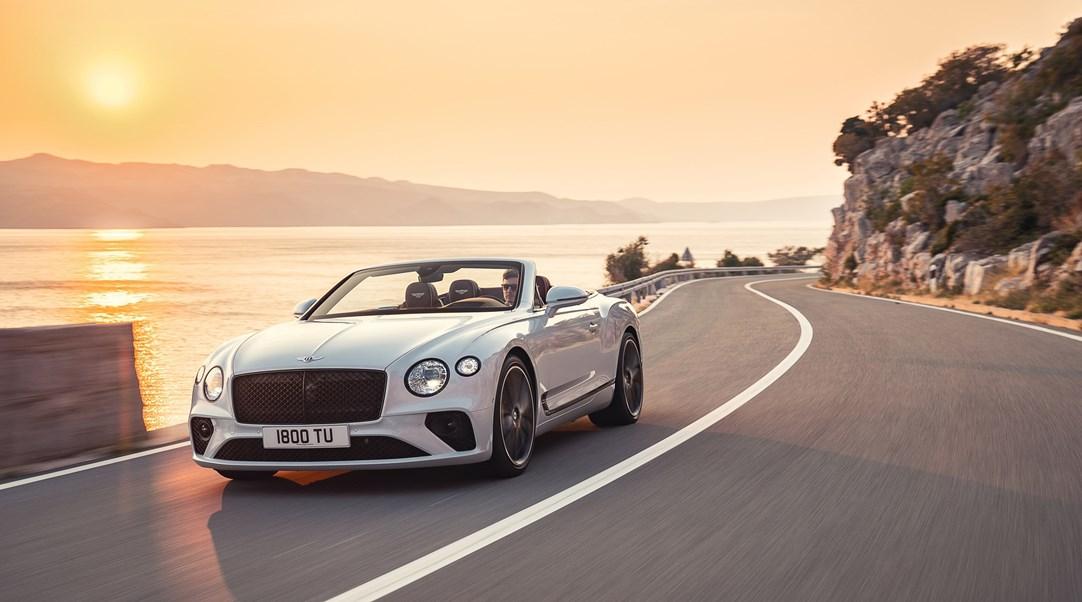All New Bentley Continental Gt Convertible The Pinnacle Open Top Grand Tourer