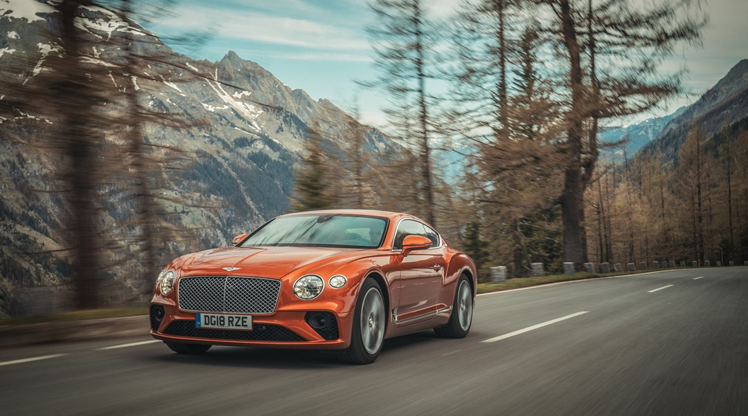 Continental Gt To Summit Pikes Peak