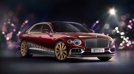 "BENTLEY SLEIGHS THE COMPETITION WITH ""THE REINDEER EIGHT"""
