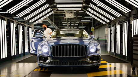 FLYING SPUR V8 PRODUCTION AND DELIVERIES UNDERWAY