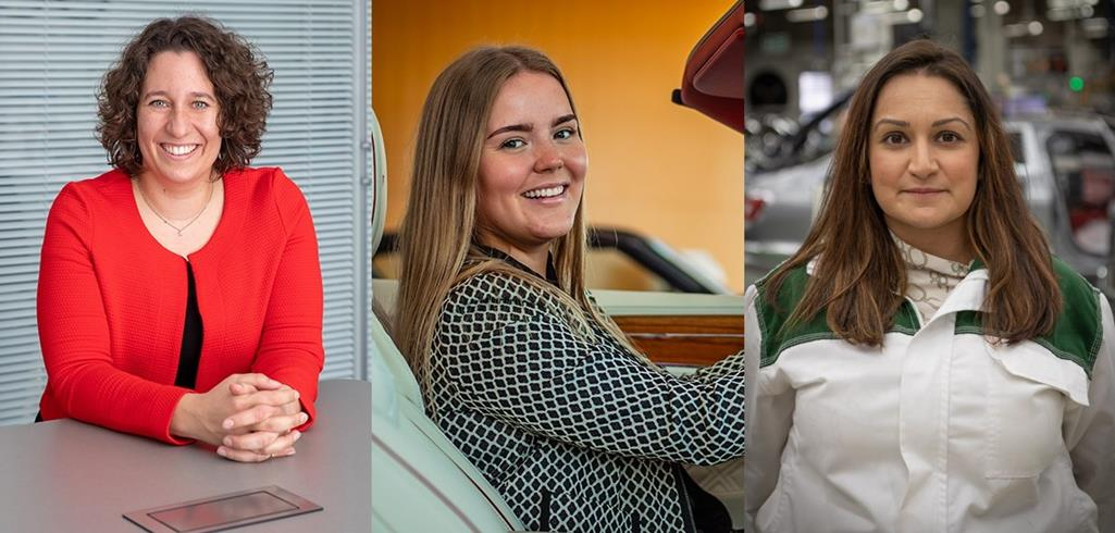 THREE BENTLEY COLLEAGUES INSPIRE NEXT GENERATION OF AUTOMOTIVE TRAILBLAZERS