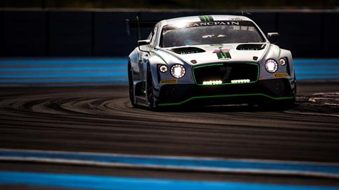 Bentley celebrates maiden podium for new Continental GT3