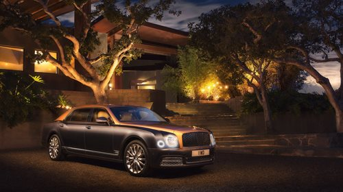 MULSANNE EXTENDED WHEELBASE NAMED 'BEST CAR FOR BEING DRIVEN IN' BY TOP GEAR