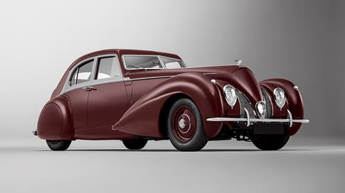 THE MISSING LINK - MULLINER COMPLETELY RE-CREATES PIVOTAL 1939 BENTLEY CORNICHE