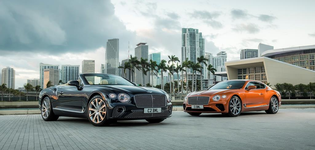 NEW CONTINENTAL GT V8 AND GT V8 CONVERTIBLE