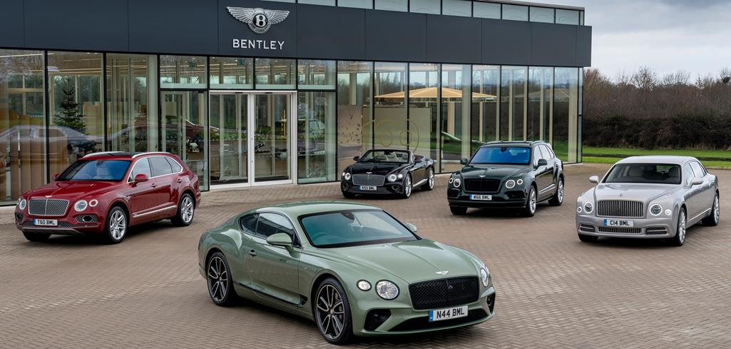 NEW MODELS HELP TO DRIVE BENTLEY SALES INCREASE IN 2019