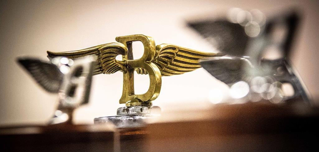 ICONIC 'FLYING B' MASCOT ADOPTED ON LUXURIOUS ALL-NEW FLYING SPUR