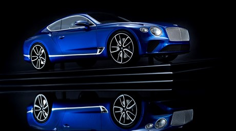 BENTLEY'S NEW BESPOKE CONTINENTAL GT MODEL - A COLLECTOR'S DELIGHT
