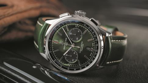 BENTLEY AND BREITLING DRIVE FORWARD INTO THE FUTURE