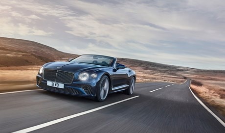 CONTINENTAL GT SPEED CONVERTIBLE BREAKS COVER FOR SPRING