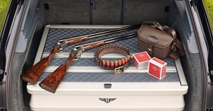Field sports, gun, shooting, Bentayga, car, alcohol Field sports, gun, shooting, Bentayga, car, alcohol